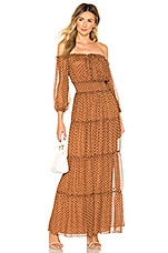 House of Harlow 1960 x REVOLVE Sapphire Dress in Brown