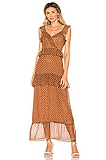 House of Harlow 1960 x REVOLVE Violette Dress in Brown