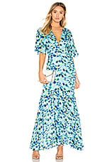 House of Harlow 1960 X REVOLVE Savana Dress in Blue Multi