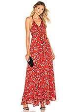 House of Harlow 1960 X REVOLVE Bloom Dress in Red Floral