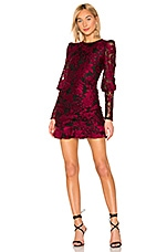 House of Harlow 1960 x REVOLVE Quintessa Dress in Black & Red