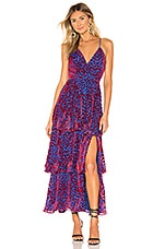 House of Harlow 1960 x REVOLVE Consuelo Maxi in Cobalt