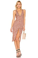 House of Harlow 1960 X REVOLVE Vice Dress in Orange Stripe