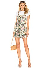 House of Harlow 1960 X REVOLVE Levi Dress in Ivory Tapestry flora