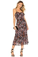 House of Harlow 1960 X REVOLVE Mariam Dress in Leopard Multi