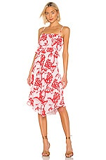 House of Harlow 1960 x REVOLVE Davi Midi Dress in Pink Reims Floral
