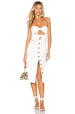 House of Harlow 1960 x REVOLVE Colette Dress in Ivory