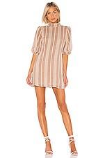 House of Harlow 1960 X REVOLVE Marina Dress in Mocha