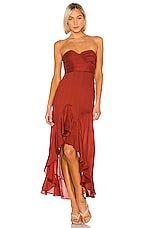 House of Harlow 1960 x REVOLVE Arnound Dress in Spice Red