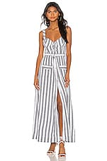 House of Harlow 1960 X REVOLVE Nadia Dress in White & Black Stripe