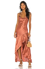 House of Harlow 1960 X REVOLVE Eveline Dress in Copper