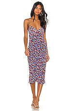 House of Harlow 1960 X REVOLVE Gemma Dress in Blue Multi