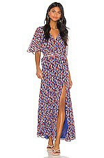 House of Harlow 1960 X REVOLVE Junia Dress in Blue Multi
