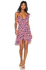 House of Harlow 1960 X REVOLVE Darma Dress in Pink Floral