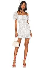 House of Harlow 1960 X REVOLVE Fleur Mini Dress in White & Navy