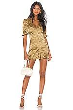 House of Harlow 1960 x REVOLVE Shiona Mini Dress in Bronze