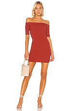 House of Harlow 1960 X REVOLVE Anemone Dress in Sangria