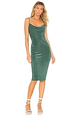 House of Harlow 1960 X REVOLVE Ira Dress in Emerald