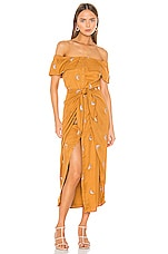 House of Harlow 1960 X REVOLVE Rumi Dress in Copper