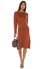 House of Harlow 1960 X REVOLVE Tawney Sweater Dress in Rust