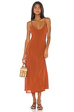 House of Harlow 1960 x REVOLVE Alona Dress in Rust