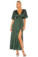 House of Harlow 1960 X REVOLVE Indira Dress in Emerald