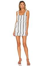 House of Harlow 1960 X REVOLVE Patricia Mini Dress in Black & White Stripe