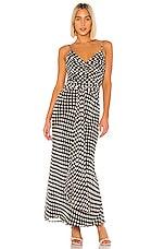 House of Harlow 1960 X REVOLVE Vinita Dress in Brown & White