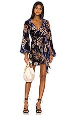 House of Harlow 1960 x REVOLVE Irvin Mini Dress in Navy Floral Multi