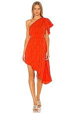House of Harlow 1960 X REVOLVE Stefani Mini Dress in Orange