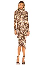 House of Harlow 1960 x REVOLVE Minka Midi Dress in Python Multi