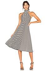 x REVOLVE Carla Dress in Black & Cream