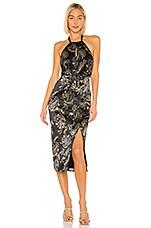 House of Harlow 1960 x REVOLVE Milo Dress in Noir Paisley Multi
