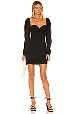 House of Harlow 1960 x REVOLVE Carolina Mini Dress in Noir