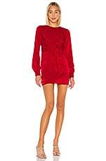 House of Harlow 1960 x REVOLVE Lotta Dress in Crimson