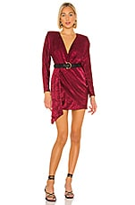 House of Harlow 1960 x REVOLVE Caterina Dress in Currant Red