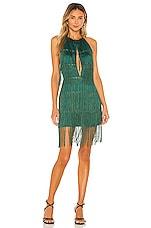 House of Harlow 1960 x REVOLVE Georgia Fringe Dress in Emerald
