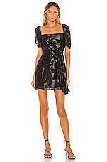 House of Harlow 1960 x REVOLVE Annaliese Mini Dress in Noir