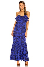 House of Harlow 1960 x REVOLVE Samira Maxi Dress in Cobalt