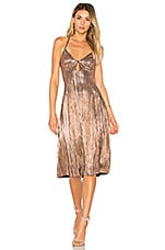 House of Harlow 1960 x REVOLVE Heidi Dress in Rose Gold