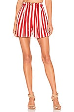 House of Harlow 1960 X REVOLVE Ulla Short in Red & White Stripe
