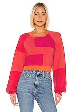 House of Harlow 1960 x REVOLVE Kayley Sweater in Sunburst