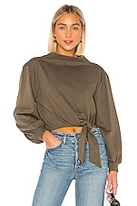 House of Harlow 1960 X REVOLVE Marcena Sweatshirt in Hunter Green