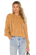 House of Harlow 1960 x REVOLVE Eben Sweater in Camel