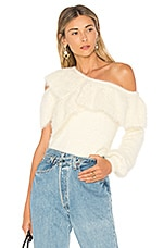 House of Harlow 1960 x REVOLVE Monroe Sweater in Porcelain