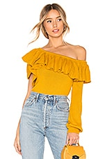 House of Harlow 1960 x REVOLVE Monroe Sweater in Marigold