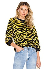 House of Harlow 1960 x REVOLVE Tiger Sweater in Yellow Tiger
