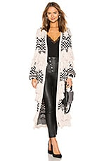 House of Harlow 1960 x REVOLVE Ash Duster in Bone