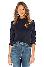 House of Harlow 1960 x REVOLVE Floral Embroidered Sweater in Navy