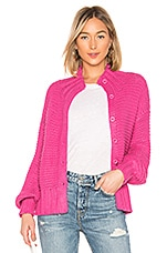 House of Harlow 1960 x REVOLVE Reverse Stitch Cardigan in Bright Pink